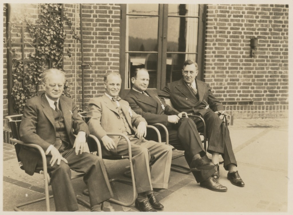 Walter with Colleagues, ca. 1950